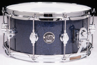 DW Performance Series 6.5x14 Snare - Indigo Glass