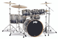 PDP Concept Maple 7pc Shell Pack - Silver to Black Fade