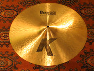 "Zildjian 18"" K Dark Crash Cymbal Thin"