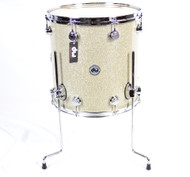 DW Collector's Series Tom 16x16 in a Broken Glass finish - Available only at Cymbal Fusion!!