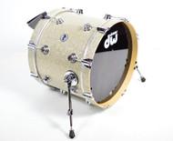DW Collector's Series Bass Drum 14x18 - Broken Glass