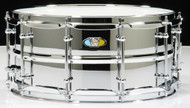 Ludwig 6.5x14 Supralite Steel Shell Snare Drum
