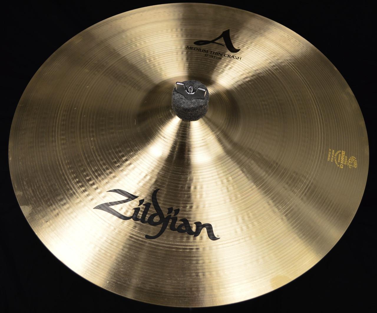 zildjian a series medium thin crash cymbal 17. Black Bedroom Furniture Sets. Home Design Ideas