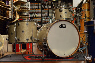 DW Collector's Series Maple/Mahogany Broken Glass 4pc (18x24)