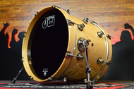 DW Performance Series 14x18 Kick - Natural Lacquer