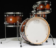 DW Design Series Frequent Flyer 4pc Shell Pack in Tobacco Burst