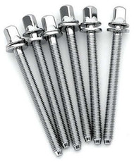 DW Chrome Tension Rods for Snare Drum M5-.8 X 2.25 in (6pk)