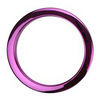"Bass Drum O's 6"" Purple Bass Drum O"
