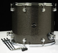 DW Performance Series 16x18 Floor Tom - Pewter Sparkle