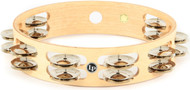 "LP Latin Percussion 10"" Double Row Tambourine LP380B"