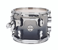 PDP Concept Maple Silver to Black Fade Tom - 8x10