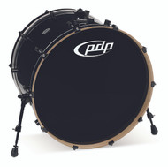 PDP Concept Maple Pearlescent Black Bass Drum - 18x24