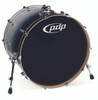 PDP Concept Maple Silver to Black Fade Bass Drum - 18x24