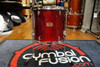 Yamaha Stage Custom 14x13 Floor Tom Cranberry Red