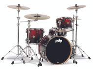 PDP Concept Maple 4pc Shell Pack Red to Black Fade