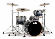 PDP Concept Maple 4pc Shell Pack Silver to Black Fade
