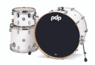PDP Concept Maple 3pc Drum Kit - Pearlescent White