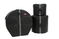 SKB 1SKB-DRP2 Drum Package 2 Cases Includes: D1822, D1012, D1616