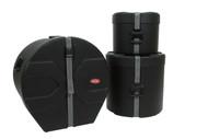 SKB 1SKB-DRP3 Drum Package 3 Cases Includes: D1620, D1012, D1616