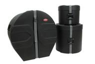 SKB 1SKB-DRP4 Drum Package 4 Cases Includes D1824, D1012, D1616