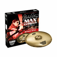 Sabian HH 2-Piece High Max Stax Pack (Mid Pitch Brilliant)