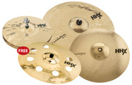 Sabian HHX Evolution 5-Pc Cymbal Pack Brilliant