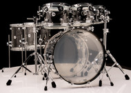 DW Acrylic Design Series Drum 7pc Set - Clear Acrylic