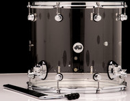 "DW Acrylic Design Series Drum 16"" x 18"" Floor Tom - Clear"