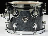 DW Performance Series 8x10 Tom - Black Diamond - Side