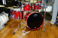 DW Performance Drum Kit Candy Apple Red 8/10/12/14/16/22