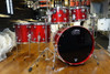 DW Performance Drum Kit Candy Apple Red 10/12/14/16/22