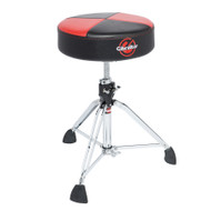 Gibraltar Throne with Super Foot - Red/Black Quarter Panel