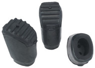 Gibraltar SC-PC08 Rubber Feet (Elliptical Legs)