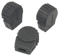 Gibraltar SC-PC10 Small Round Rubber Feet (3 Pack)
