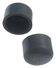 Gibraltar SCRFR Round Style Rubber Feet for 1/2 Rack Tubes (2 pack)