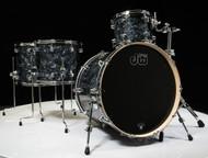 DW Performance Series 4pc Shell Pack 12/14/16/22 Black Diamond - Front