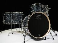 DW Performance Series 5pc Shell Pack 10/12/14/16/22 Black Diamond - Front