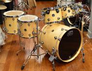 DW Performance Drum Kit Natural Lacquer 8/10/12/14/16/22