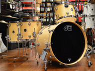 DW Performance Drum Kit Natural Lacquer 12/14/16/22