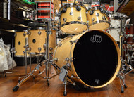 DW Performance Drum Kit Natural Lacquer 10/12/14/16/22