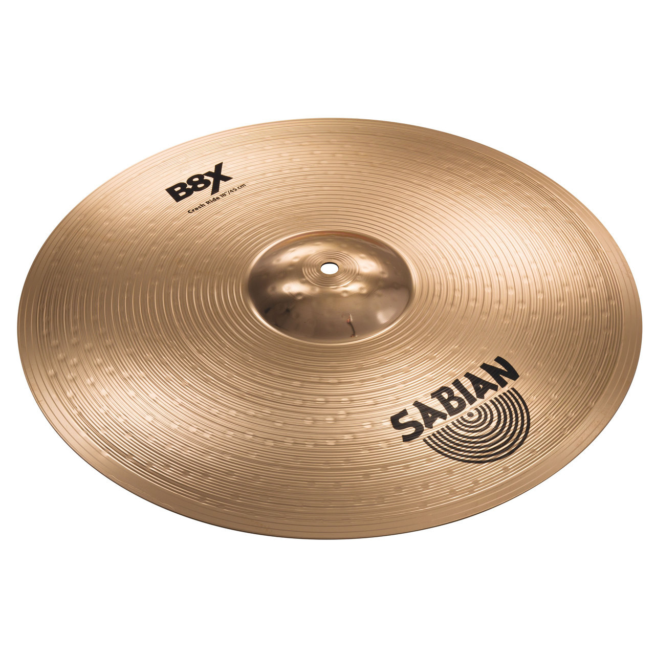 sabian b8x 18 crash ride cymbal. Black Bedroom Furniture Sets. Home Design Ideas