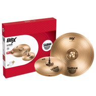 "Sabian B8X 4-Piece Cymbal Pack Free 14"" Crash"