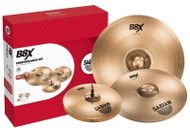 "Sabian B8X 5-Piece Cymbal Pack Free 18"" Crash"