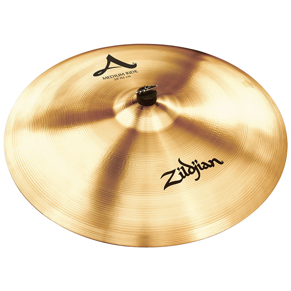 zildjian a 24 medium ride cymbal. Black Bedroom Furniture Sets. Home Design Ideas