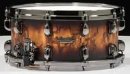 Tama Starclassic Maple 6.5x14 Snare Molten Satin Brown Burst