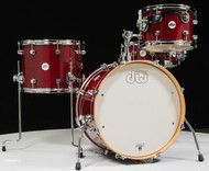 DW Design Series Frequent Flyer 4pc Shell Pack - Cherry Stain Lacquer