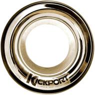 Kickport Sonic Enhancement Bass Drum Port Insert Gold