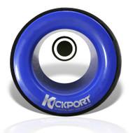 Kickport Sonic Enhancement Bass Drum Port Insert Blue