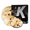 Zildjian K Custom Dark Cymbal Pack 5pc