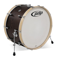 PDP Concept Maple Classic 14X26 Kick Walnut w/Natural Hoops